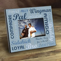Groomsman Gift Picture Frame