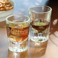 Groomsman Gift Shot Glass